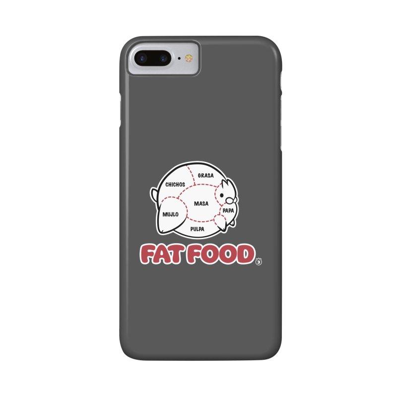 FAT FOOD Accessories Phone Case by Tripleta Studio Shop