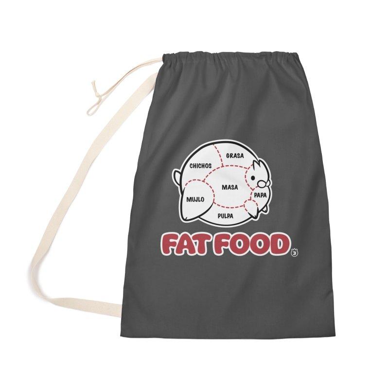 FAT FOOD Accessories Bag by Tripleta Studio Shop