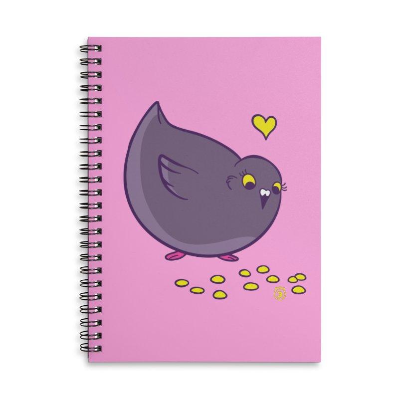 GOGO CORN Accessories Lined Spiral Notebook by Tripleta Studio Shop