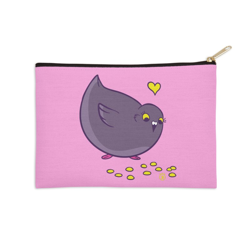 GOGO CORN Accessories Zip Pouch by Tripleta Gourmet Clothing