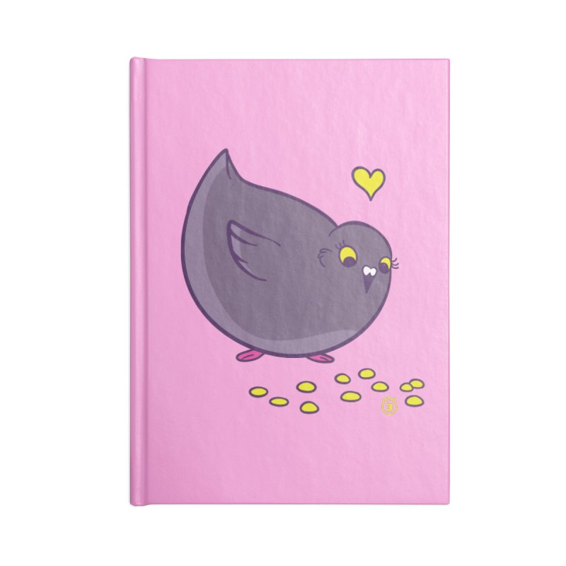 GOGO CORN Accessories Blank Journal Notebook by Tripleta Studio Shop