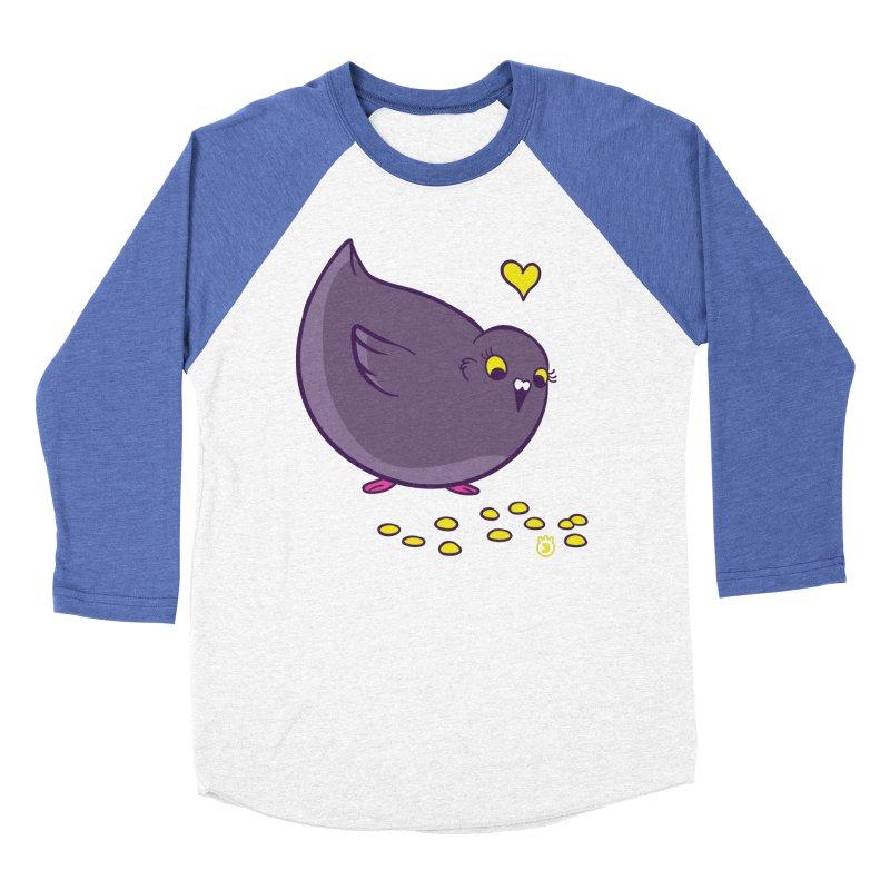GOGO CORN Men's Baseball Triblend Longsleeve T-Shirt by Tripleta Studio Shop