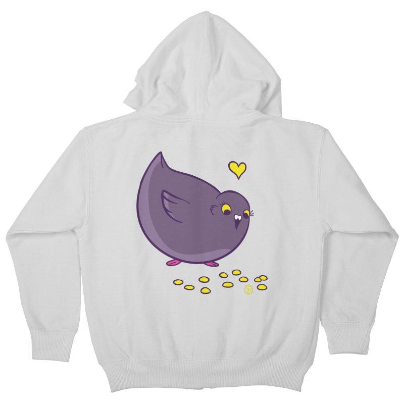 GOGO CORN Kids Zip-Up Hoody by Tripleta Gourmet Clothing