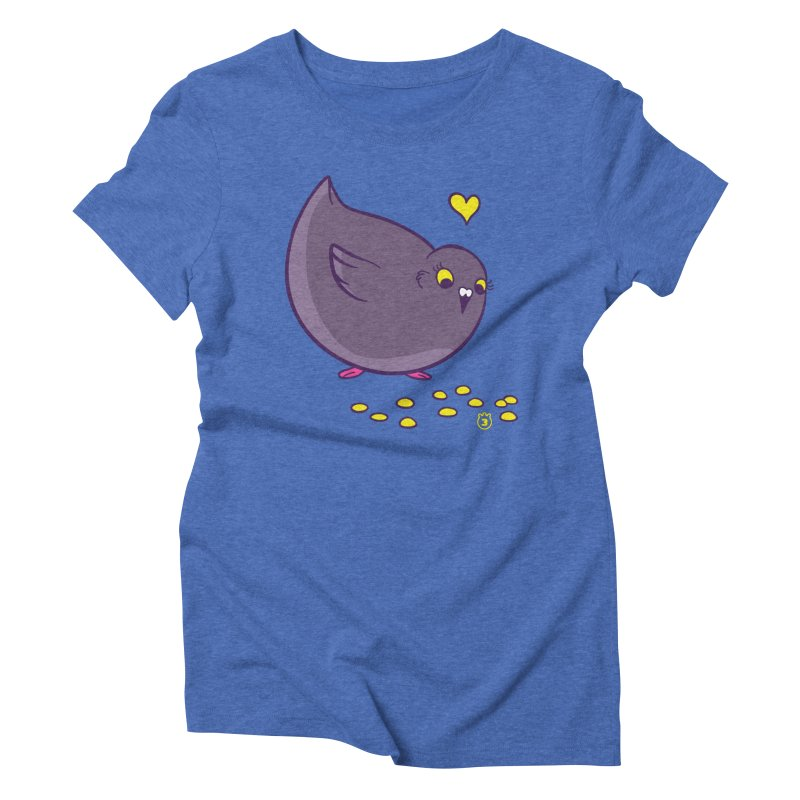 GOGO CORN Women's Triblend T-Shirt by Tripleta Studio Shop