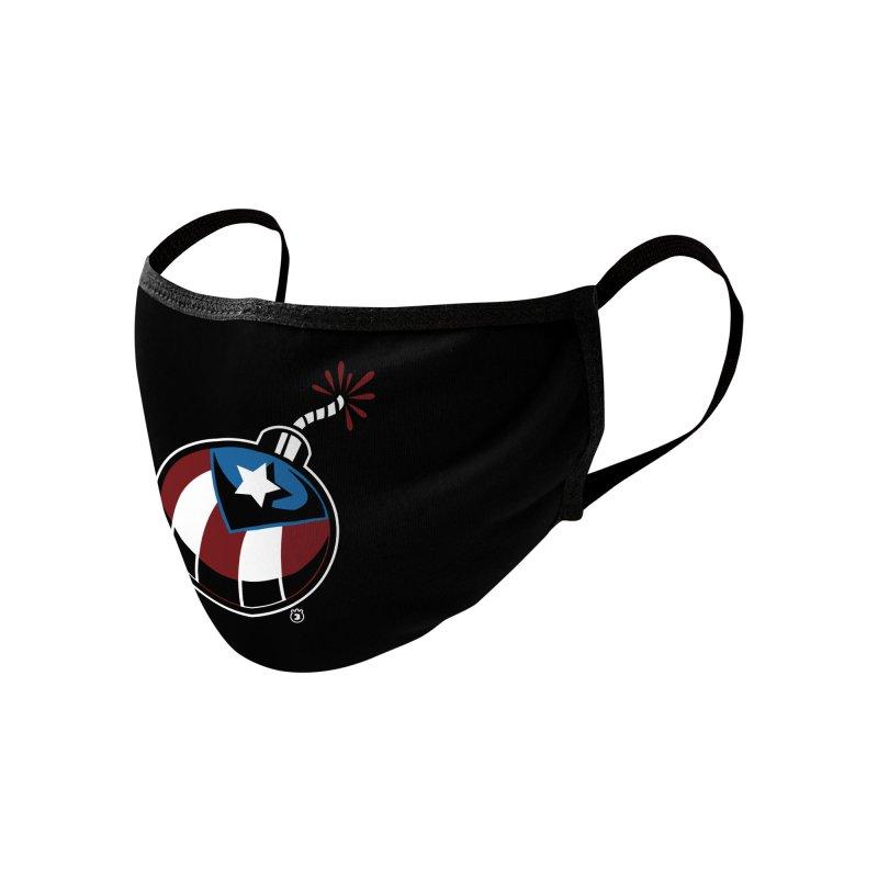 LA BOMBA Accessories Face Mask by Tripleta Studio Shop