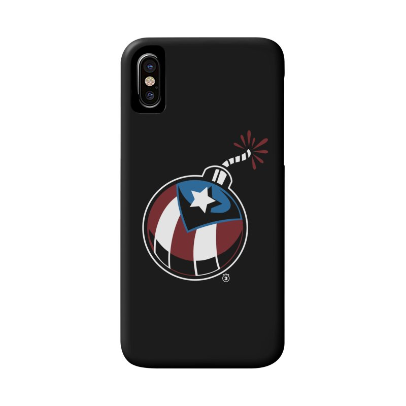 LA BOMBA Accessories Phone Case by Tripleta Gourmet Clothing