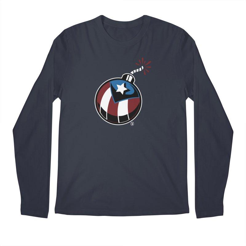 LA BOMBA Men's Longsleeve T-Shirt by Tripleta Gourmet Clothing