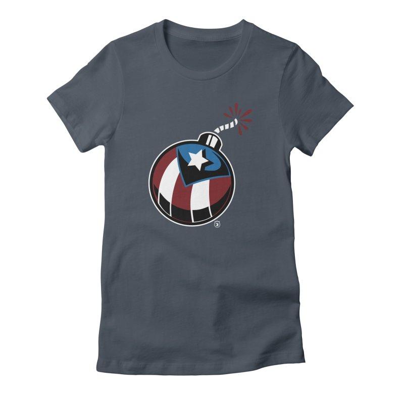 LA BOMBA Women's T-Shirt by Tripleta Studio Shop