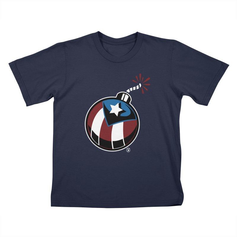 LA BOMBA Kids T-Shirt by Tripleta Studio Shop