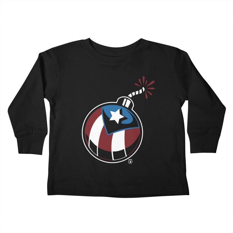LA BOMBA Kids Toddler Longsleeve T-Shirt by Tripleta Gourmet Clothing