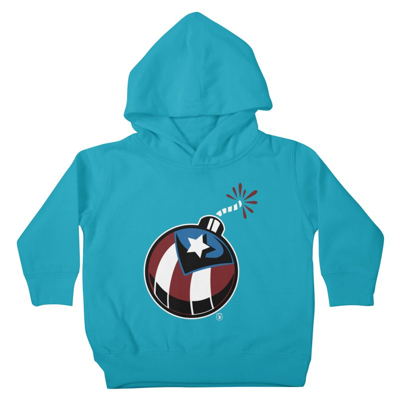 LA BOMBA Kids Toddler Pullover Hoody by Tripleta Gourmet Clothing