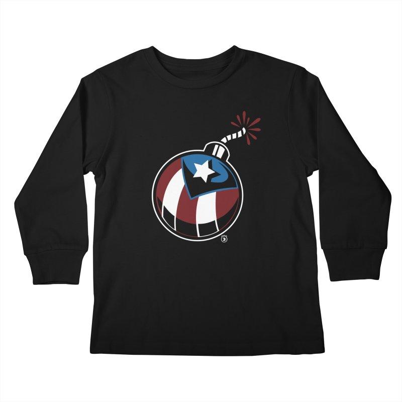 LA BOMBA Kids Longsleeve T-Shirt by Tripleta Gourmet Clothing