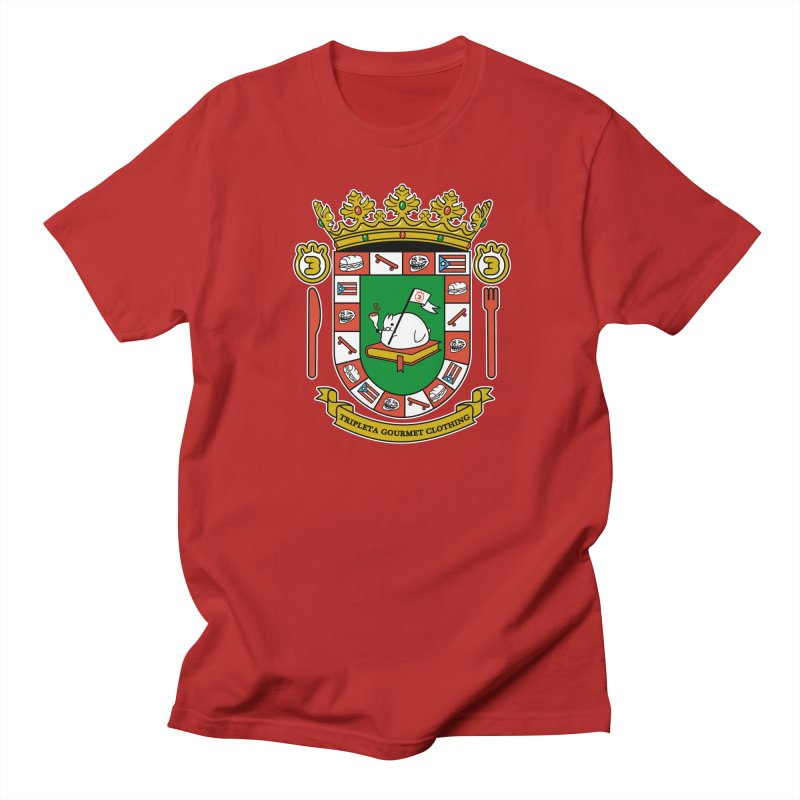 ESCUDO Women's Unisex T-Shirt by Tripleta Gourmet Clothing