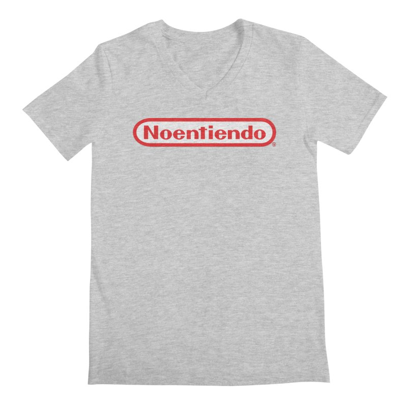 NOENTIENDO Men's V-Neck by Tripleta Gourmet Clothing