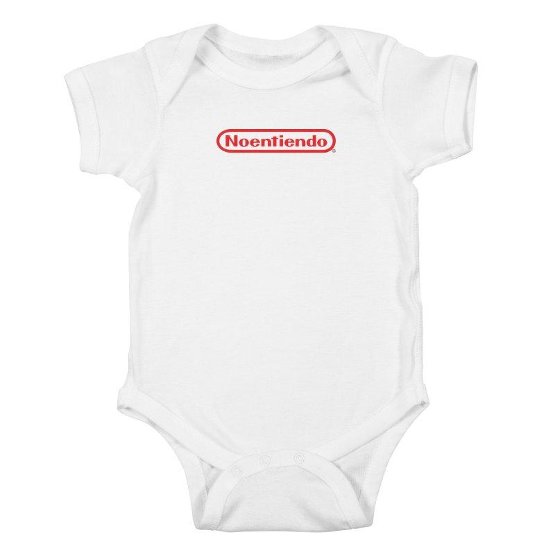 NOENTIENDO Kids Baby Bodysuit by Tripleta Gourmet Clothing