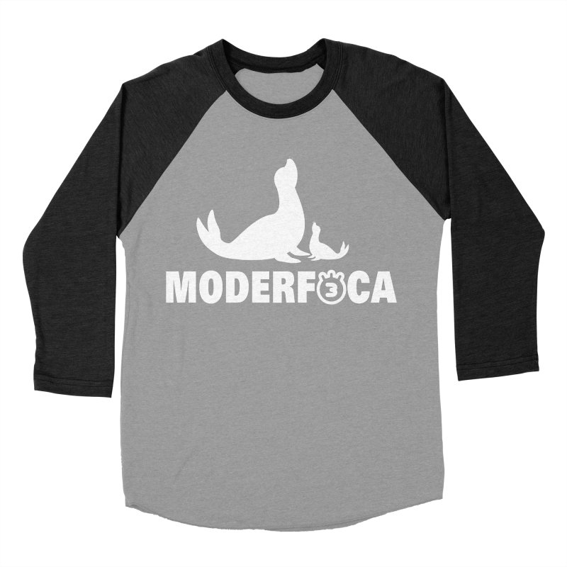 MODERFOCA Women's Baseball Triblend T-Shirt by Tripleta Gourmet Clothing