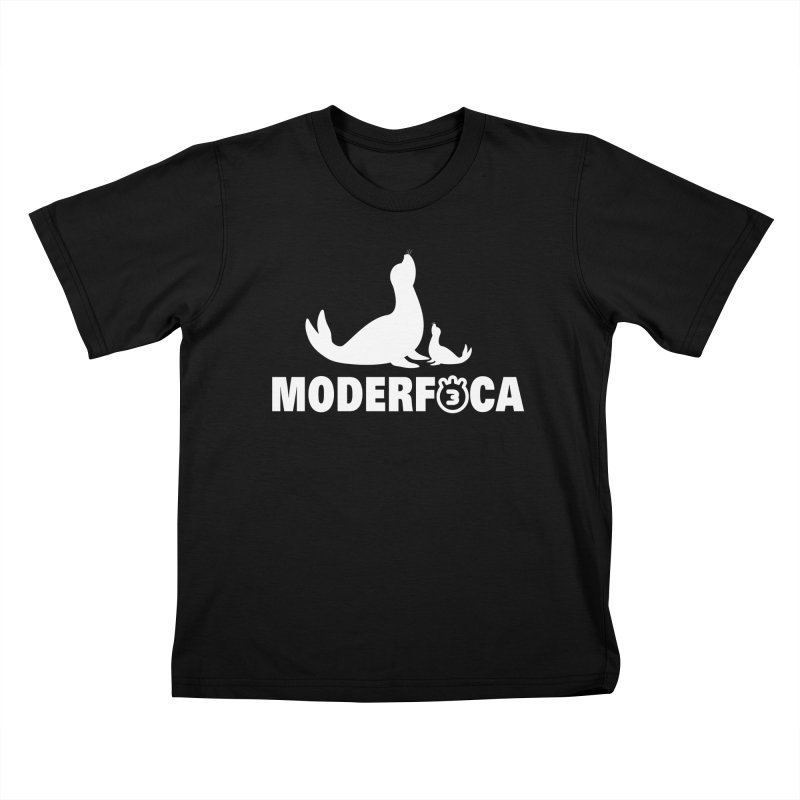 MODERFOCA Kids T-shirt by Tripleta Gourmet Clothing