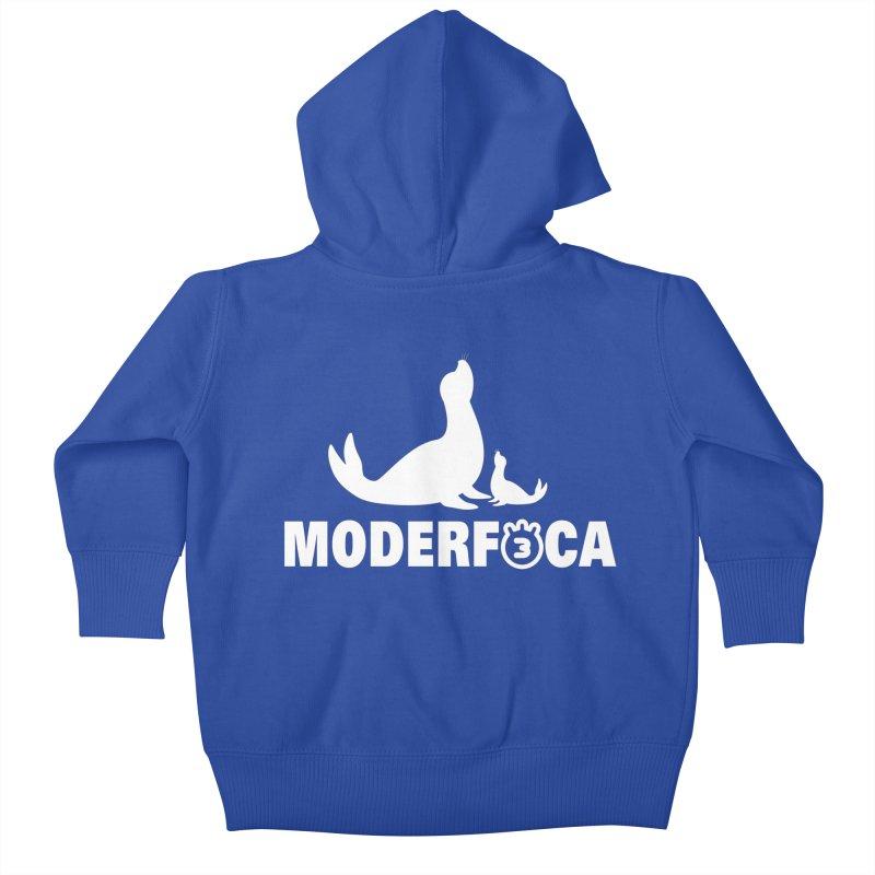 MODERFOCA Kids Baby Zip-Up Hoody by Tripleta Gourmet Clothing