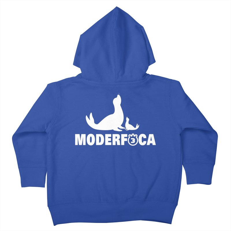 MODERFOCA Kids Toddler Zip-Up Hoody by Tripleta Gourmet Clothing