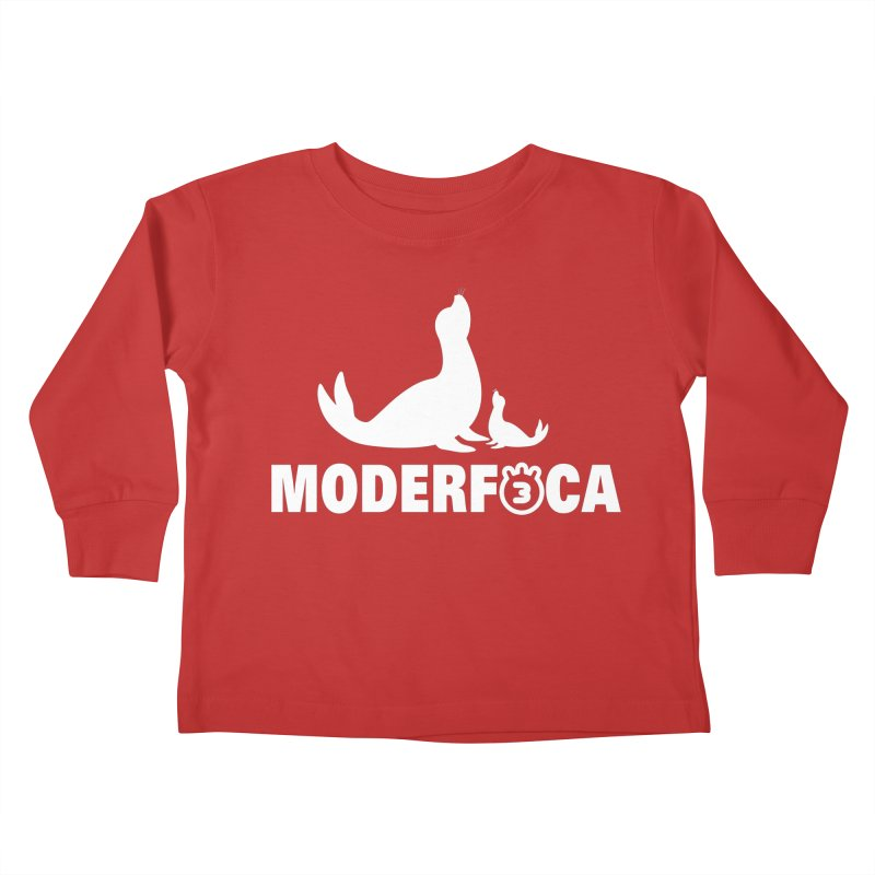MODERFOCA Kids Toddler Longsleeve T-Shirt by Tripleta Gourmet Clothing
