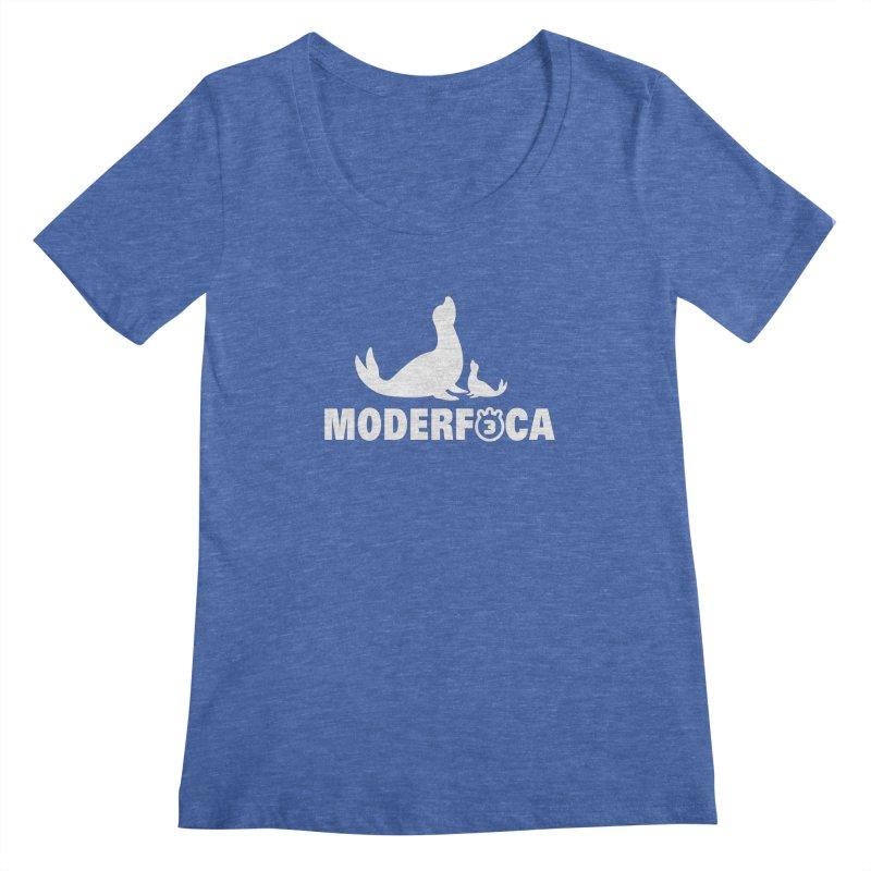 MODERFOCA Women's Regular Scoop Neck by Tripleta Gourmet Clothing