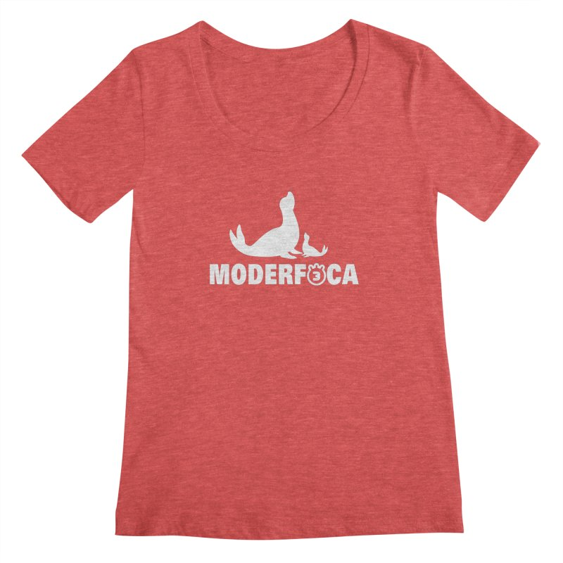 MODERFOCA Women's Regular Scoop Neck by Tripleta Gourmet Clothing