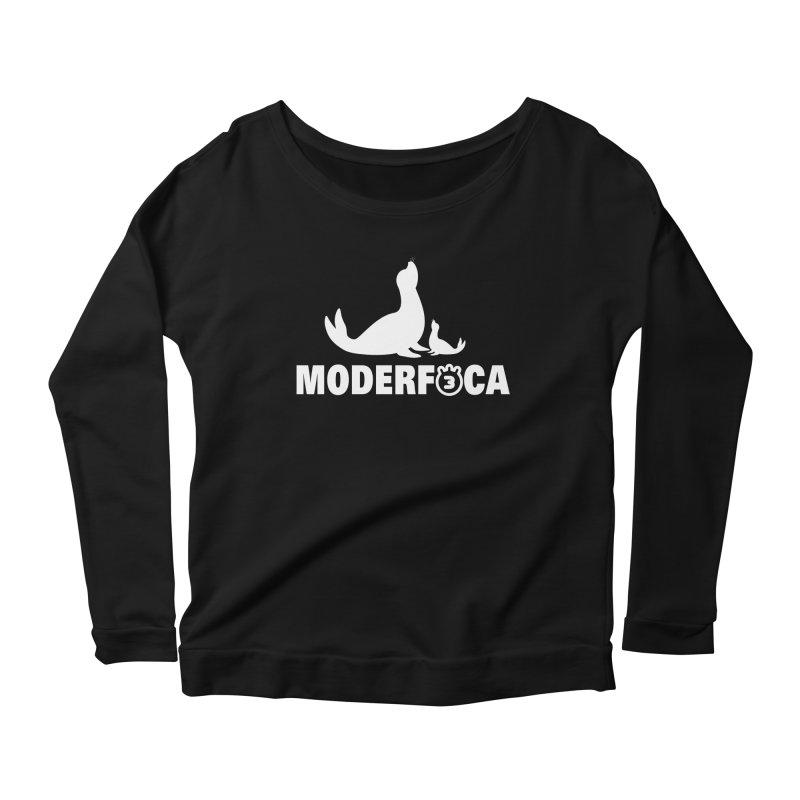 MODERFOCA Women's Scoop Neck Longsleeve T-Shirt by Tripleta Gourmet Clothing