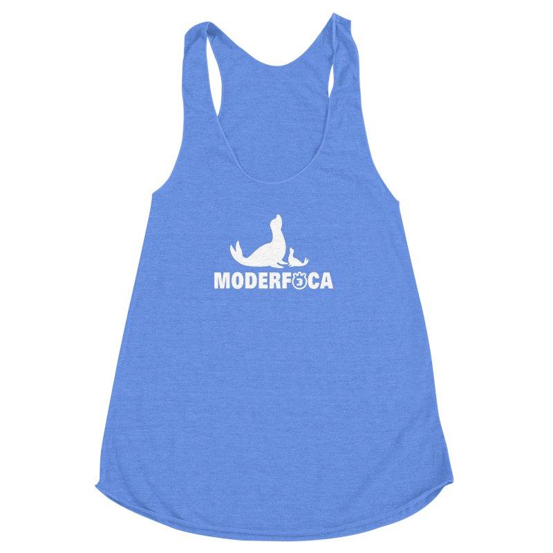 MODERFOCA Women's Racerback Triblend Tank by Tripleta Gourmet Clothing