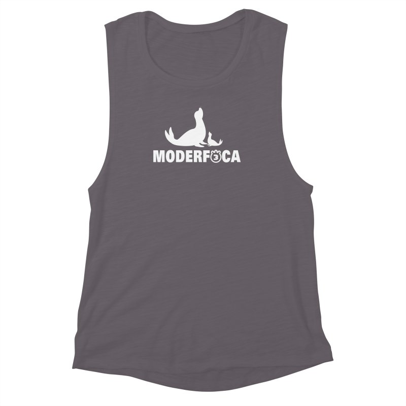 MODERFOCA Women's Muscle Tank by Tripleta Gourmet Clothing