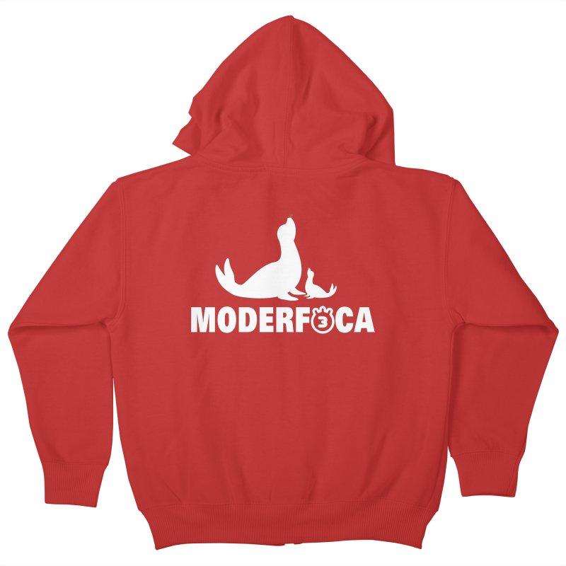 MODERFOCA Kids Zip-Up Hoody by Tripleta Gourmet Clothing