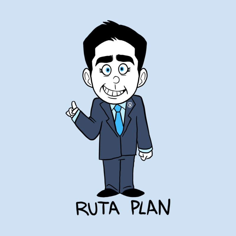 RUTA PLAN Accessories Sticker by Tripleta Studio Shop