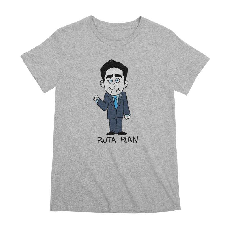 RUTA PLAN Women's Premium T-Shirt by Tripleta Studio Shop
