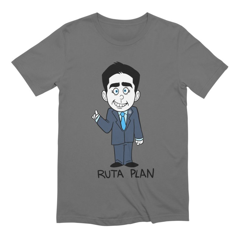 RUTA PLAN Men's Extra Soft T-Shirt by Tripleta Studio Shop