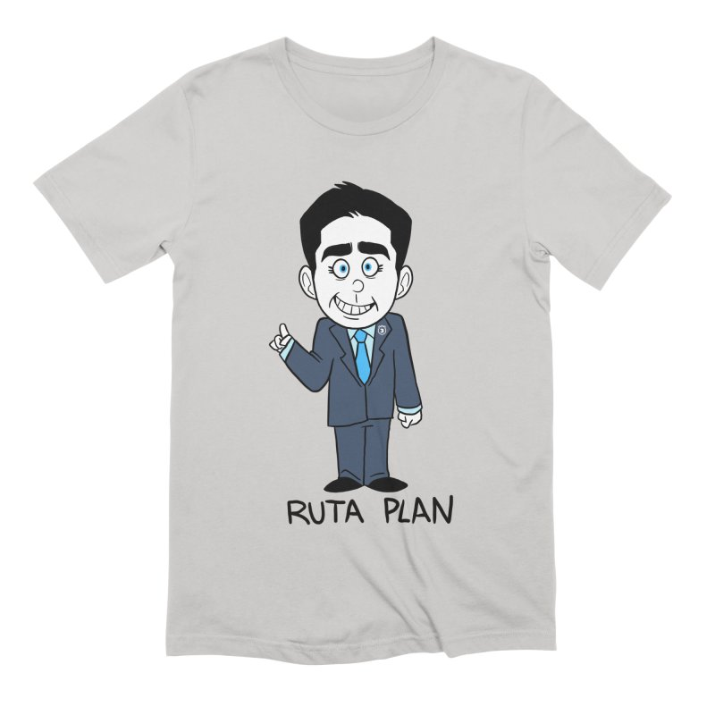 RUTA PLAN Men's Extra Soft T-Shirt by Tripleta Studio Shop