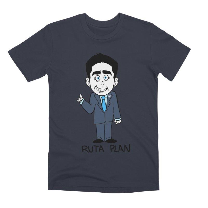 RUTA PLAN Men's Premium T-Shirt by Tripleta Studio Shop