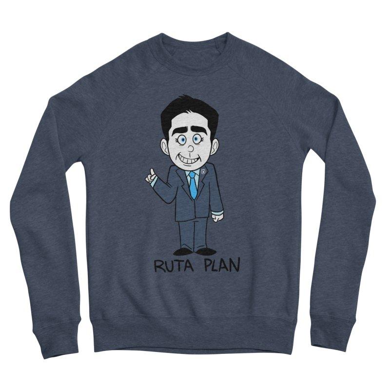 RUTA PLAN Women's Sponge Fleece Sweatshirt by Tripleta Studio Shop