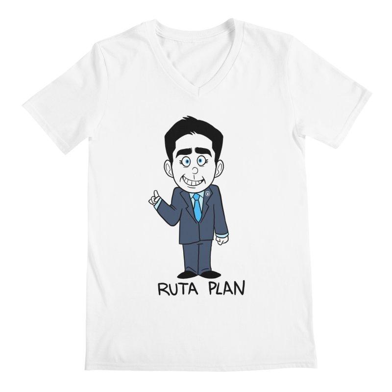 RUTA PLAN Men's V-Neck by Tripleta Studio Shop