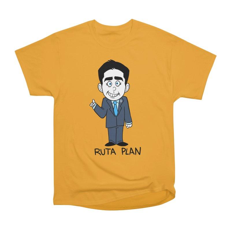 RUTA PLAN Men's Heavyweight T-Shirt by Tripleta Studio Shop