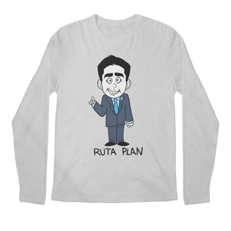 RUTA PLAN Men's Regular Longsleeve T-Shirt by Tripleta Studio Shop