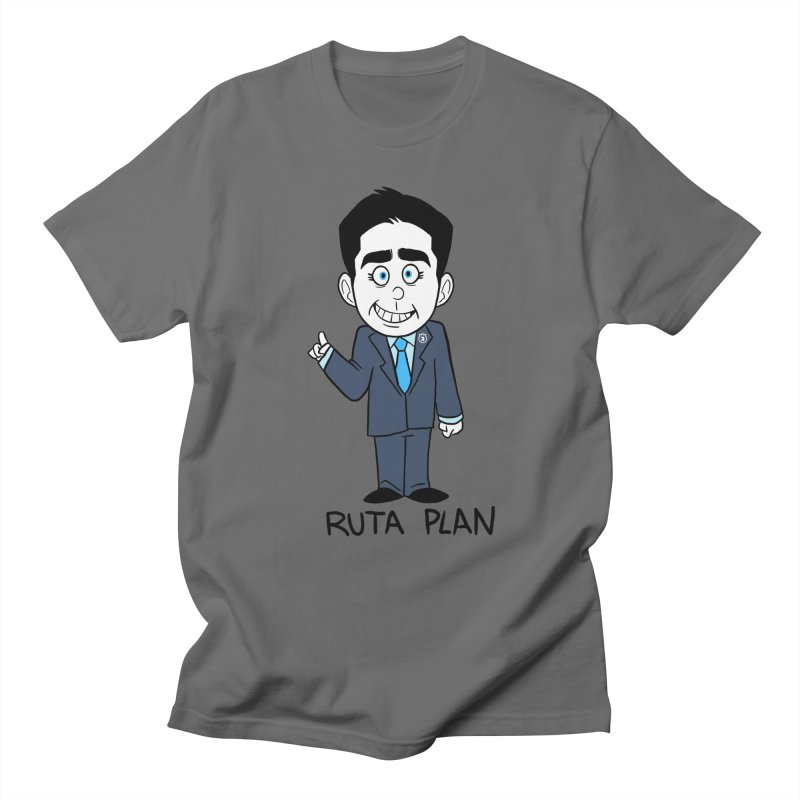 RUTA PLAN Men's T-Shirt by Tripleta Studio Shop