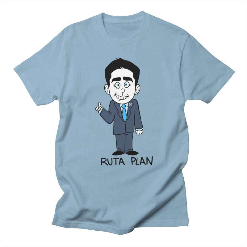 RUTA PLAN Men's Regular T-Shirt by Tripleta Studio Shop