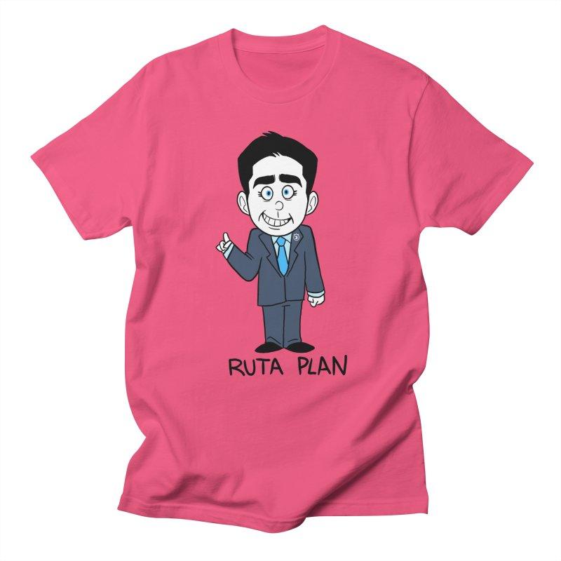 RUTA PLAN Men's Regular T-Shirt by Tripleta Gourmet Clothing