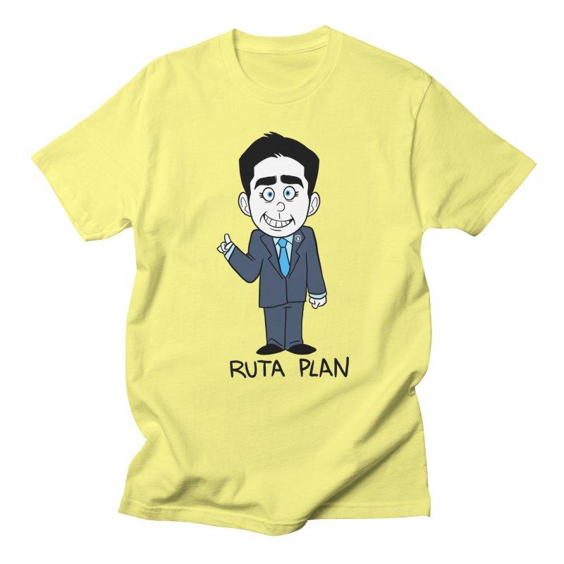 RUTA PLAN Men's Regular T-Shirt by Tripleta Studio Shop