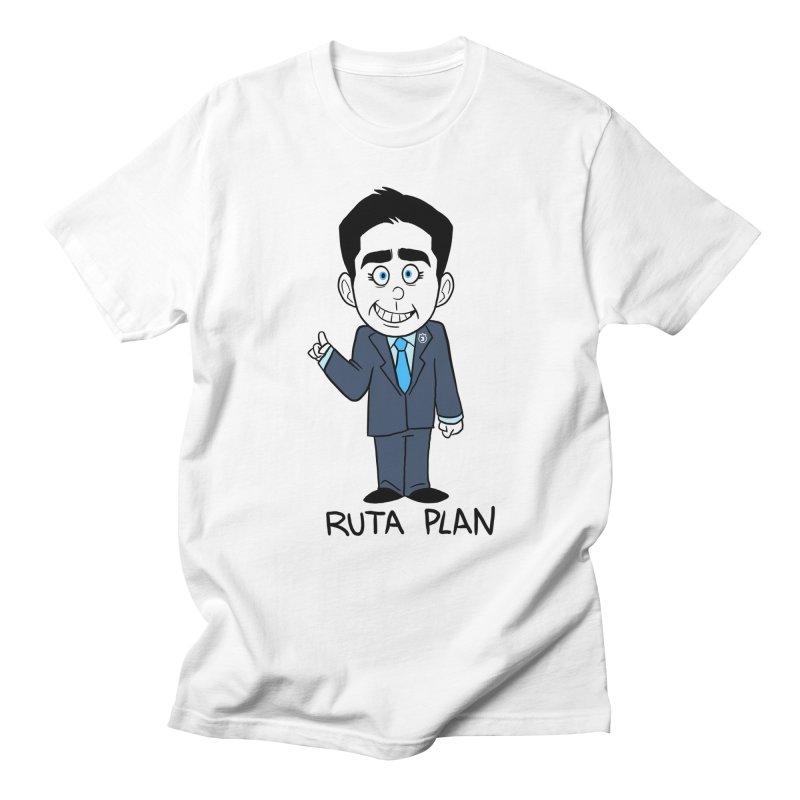 RUTA PLAN Women's Regular Unisex T-Shirt by Tripleta Studio Shop