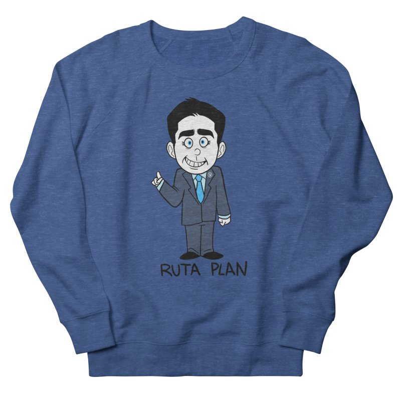 RUTA PLAN Women's French Terry Sweatshirt by Tripleta Gourmet Clothing