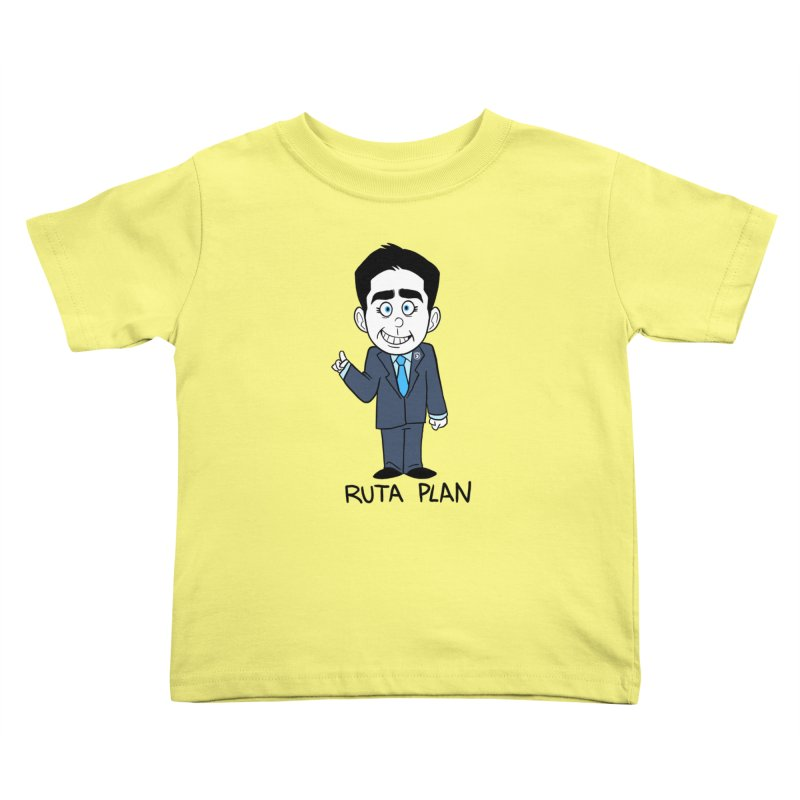 RUTA PLAN Kids Toddler T-Shirt by Tripleta Studio Shop