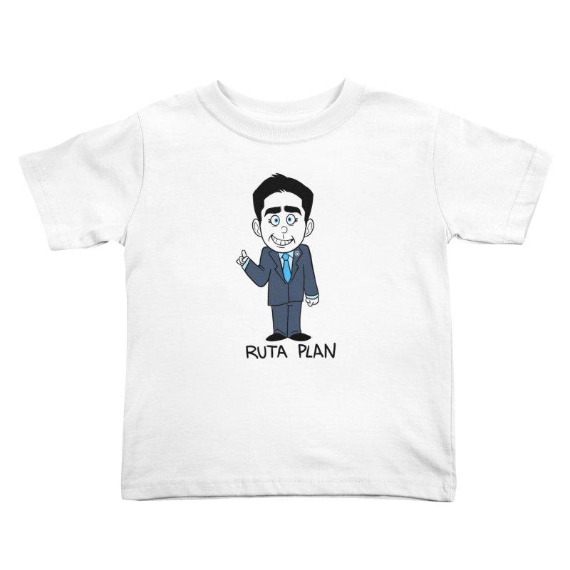 RUTA PLAN Kids Toddler T-Shirt by Tripleta Gourmet Clothing