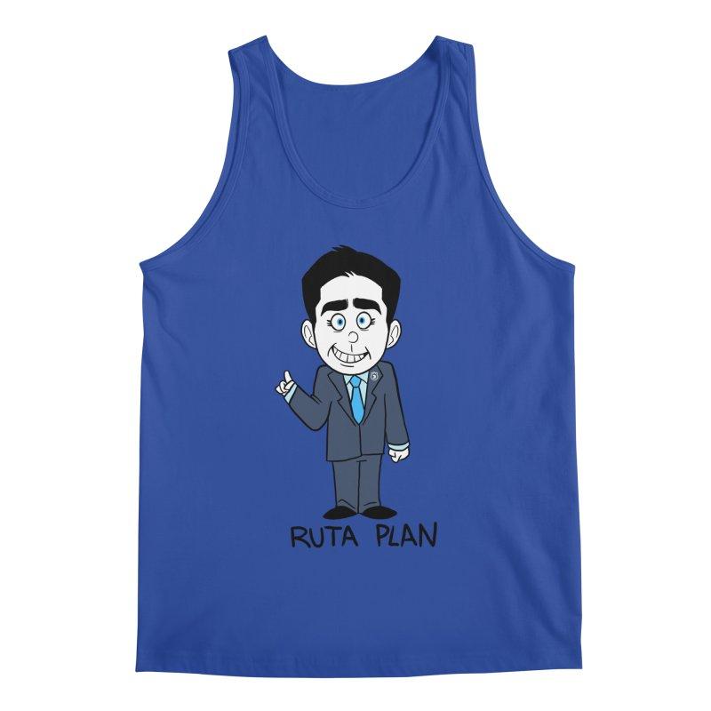 RUTA PLAN Men's Tank by Tripleta Studio Shop