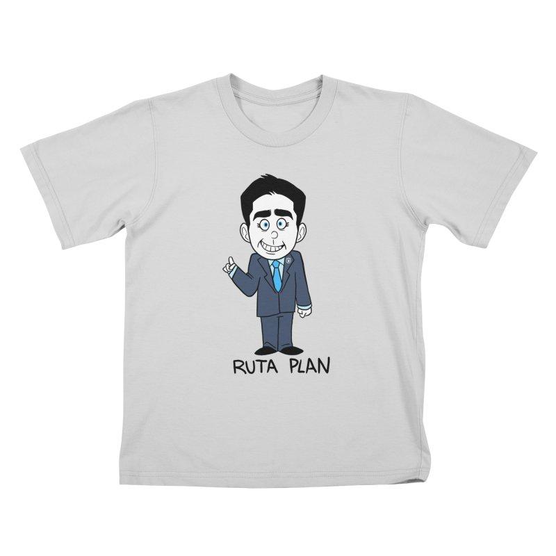 RUTA PLAN Kids T-Shirt by Tripleta Studio Shop