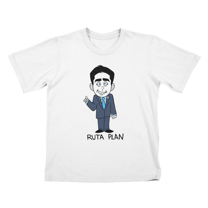 RUTA PLAN Kids T-Shirt by Tripleta Gourmet Clothing
